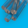 PMMA perspex glass rod colorful transparent in stock