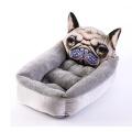 Cartoon Warm Pet Wo Dog Matelas Produits pour animaux de compagnie