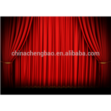 Curtain factory velvet stage curtains for sale