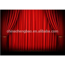 Cortina fábrica cortinas de veludo fase para venda