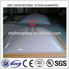 Claraboya de policarbonato opal de 3 mm / hoja de policarbonato opal de 3 mm