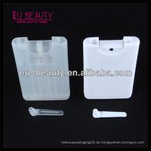 15ml Plastik Kreditkartenflasche für Parfüm