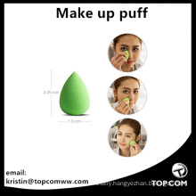 make up sponge egg shaped container cleanser