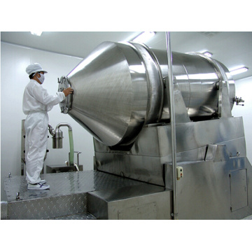 Two-Dimensional Stainless Steel Dry Powder Mixing Equipment