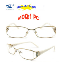 2015 6 Colors Available Fashion Cheap Lady Stainless Metal Optical Frame