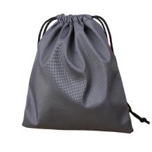 custom outdoor sport polyester drawstring bags gym waterproof storage nylon drawstring bag