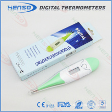 Henso digital thermometer with flexible probe