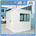 2016 low cost small prefab steel kiosk