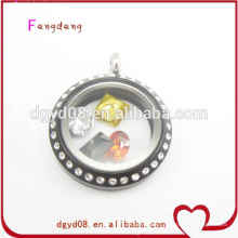floating lockets custume jewelry fast fashion