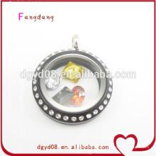flutuantes medalhões custume jóias fast fashion