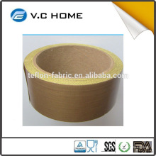 "PTFE -Stock & Custom Fenda largura de 1/2 ""a 41"" de largura Rolls WITH Silicone ou Acrílico Adesiva Backing"