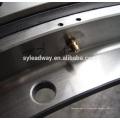 Projeto do rolamento da plataforma giratória do baixo torque para carrosséis de enchimento