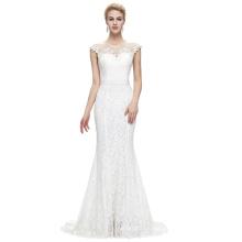 Starzz 2016 Sleeveless Floor-Length Elegant White Lace Formal Evening Dress 8 Size US 2~16 ST000085-2