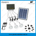 Kit solar de panel solar calificado de 4W para familia