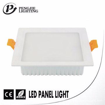 Die Casting ADC12 Aluminum 16W LED Backlit Panel Light Housing (Square)