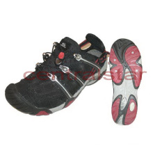 Mejores zapatos de malla negros de moda (WT005)