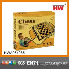 2014 Venda quente magnético plástico internacional peças de xadrez