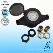 Multi Jet Dry Type Plastic Cold Water Meter