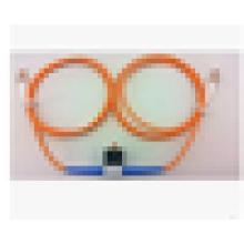 Multimode 62.5 / 125 50/125 VOA Fibre Optique LC / UPC atténuateur variable, atténuateur en ligne de 30db
