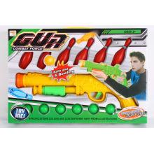 Brinquedo, pingpong, bola, arma
