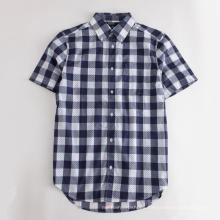 2020 New Design Men's Short Sleeve Casual Shirt