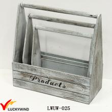 Новая ручная корзина для плантаторов из дерева ручной работы