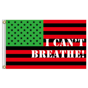 Benutzerdefiniertes Design Banner Black Lives Matter Flag