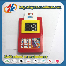 Math Learning Educational Teaching Plastic Calculator Toys with Cards