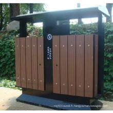 2014 High Quanlity Cheap Outdoor Environment WPC Trash Can
