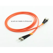 Multimode Duplex Fiber Optic St-St