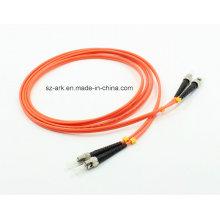 Многомодовый дуплексный оптоволоконный кабель St-St