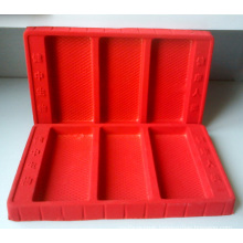 Disposable PS Flocking Tray for Cosmetic