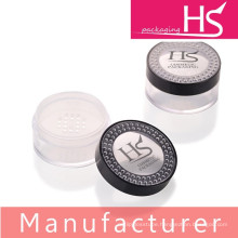 Cosmetic loose powder compact packaging