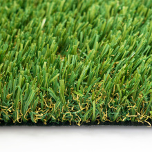 Belle pelouse artificielle de gazon synthétique d'aménagement paysager