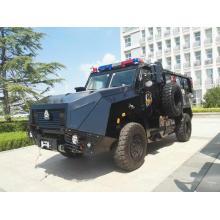 Синотрукский военный автомобиль с противопехотным снаряжением для полиции и армии