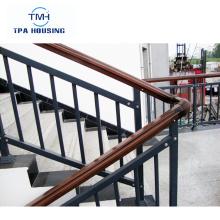 Barandilla de escalera de acero galvanizado Panel de cerca de metal Valla de seguridad de aluminio / Cercado de jardín / Fabricante de paneles de cerca