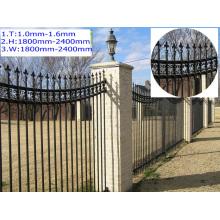 High temperature, resistant to sun, rain resistant fence