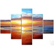 Modern Seascape Malerei auf Leinwand für Wanddekor (SE-188)