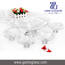 Ensemble de bol en verre 7PCS, ensemble de bol en verre, ensemble de verres Tz7-GB16029