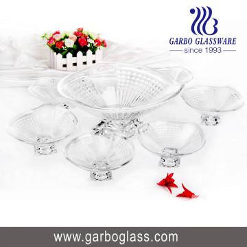 7PCS Набор стеклянной чаши, набор стеклянных чаш, набор посуды Tz7-GB16029