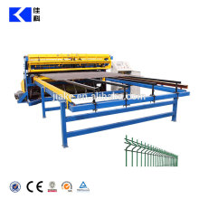Anping Steel Wire Mesh Welded Machines Making 3D Mesh Fence Panel