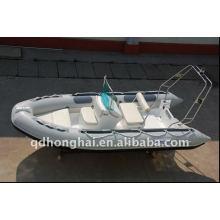 COSTILLA 4,2 m inflable barco de fibra de vidrio alta velocidad yate