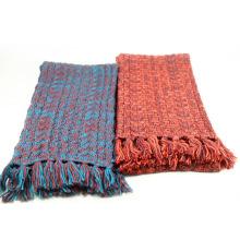Cordons de câble acrylique hiver chaud laine unisexe Franges lourd tricoté écharpe (SK173)
