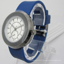 Montre-bracelet en silicone résistant à l'eau