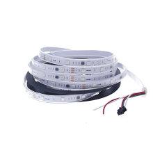 Lumière de bande de 12V DC 5M WS2811 RVB LED, imperméabilisent les lumières programmables de ruban de couleur de rêve de Pixel 30Leds / M 5050 adressables SMD