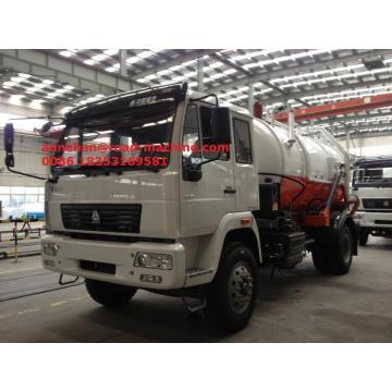SINOTRUK HOWO 336hp Sewage Suction Truck