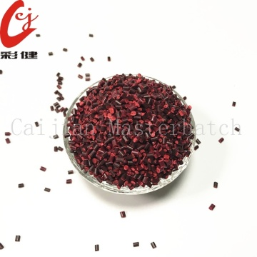 Plastic Shell Red Masterbatch Granule