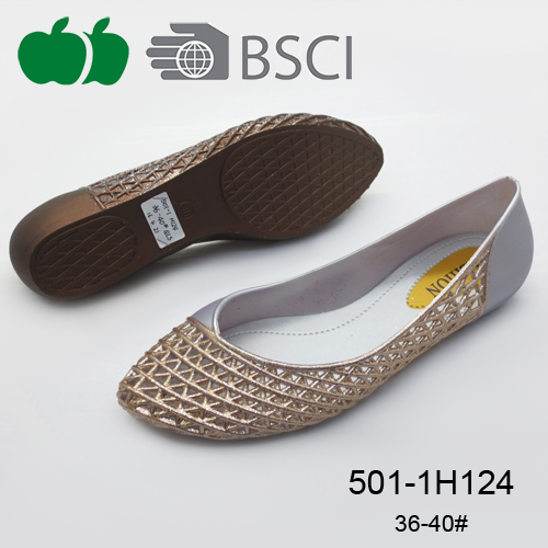Best quality simple new design fashion ladies flat casual shoes