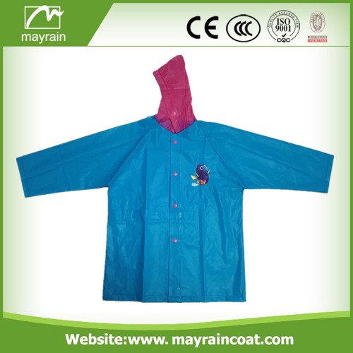 Plastic Fabric School Raincoat