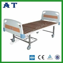 ABS beds with wooden bed plane for hospital